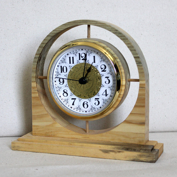 Blue Pine Floating Clock