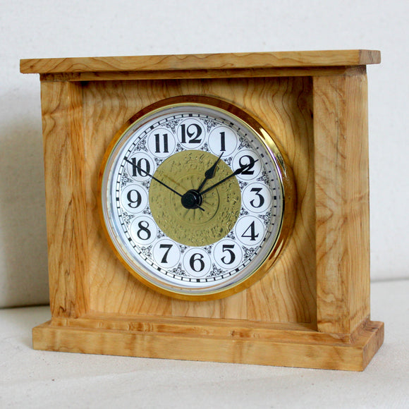 Sagebrush Wood Box Clock