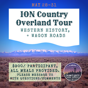 ION Country Overland Tour, May 28-31
