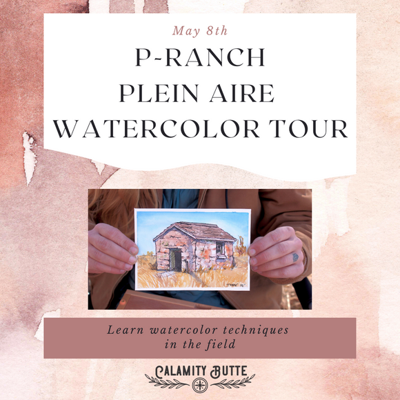 P-Ranch Plein-air Watercolor Tour- May 8th