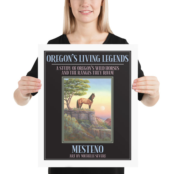 Mesteno Oregon's Living Legends Poster