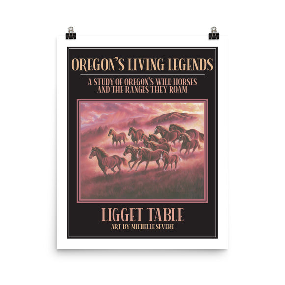 Ligget Table Oregon's Living Legends Poster