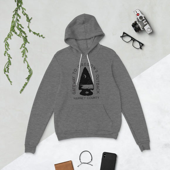 Gateway to Oregon's Outback Unisex hoodie