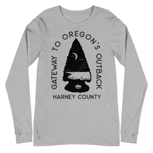 Gateway to Oregon's Outback Unisex Long Sleeve Tee