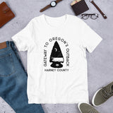 Gateway to Oregon's Outback Short-Sleeve Unisex T-Shirt