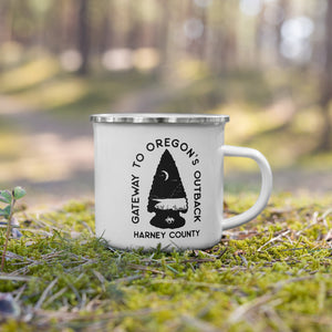 Gateway to Oregon's Outback Enamel Mug