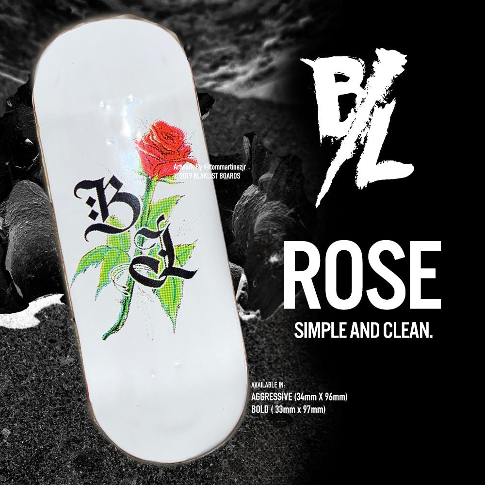 ROSE - WHITE - Blaklist Fingerboard