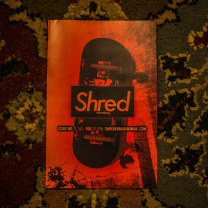 ISSUE #3 - SHRED FINGERBOARD MAGAZINE - Vol.1