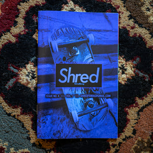 ISSUE #4 - SHRED FINGERBOARD MAGAZINE - Vol.1