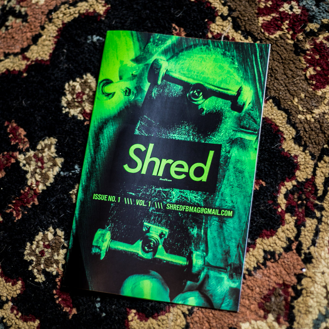ISSUE #1 - SHRED FINGERBOARD MAGAZINE - Vol.1
