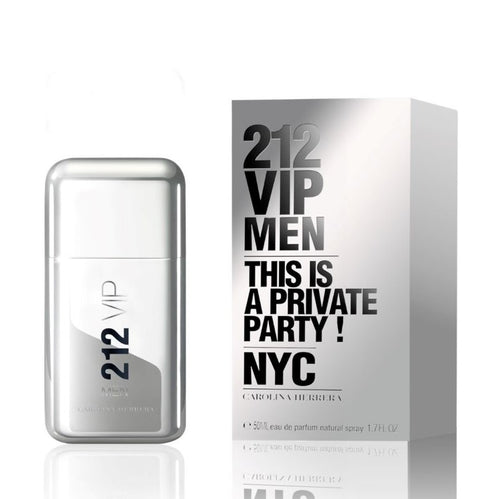 CAROLINA HERRERA 212 VIP MEN EDT - AVAILABLE IN 2 SIZES - Beauty Bar