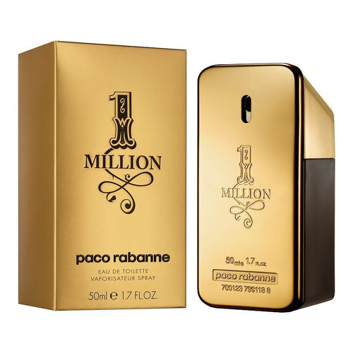 PACO RABANNE 1 MILLION EDT - AVAILABLE IN 2 SIZES - Beauty Bar Cyprus