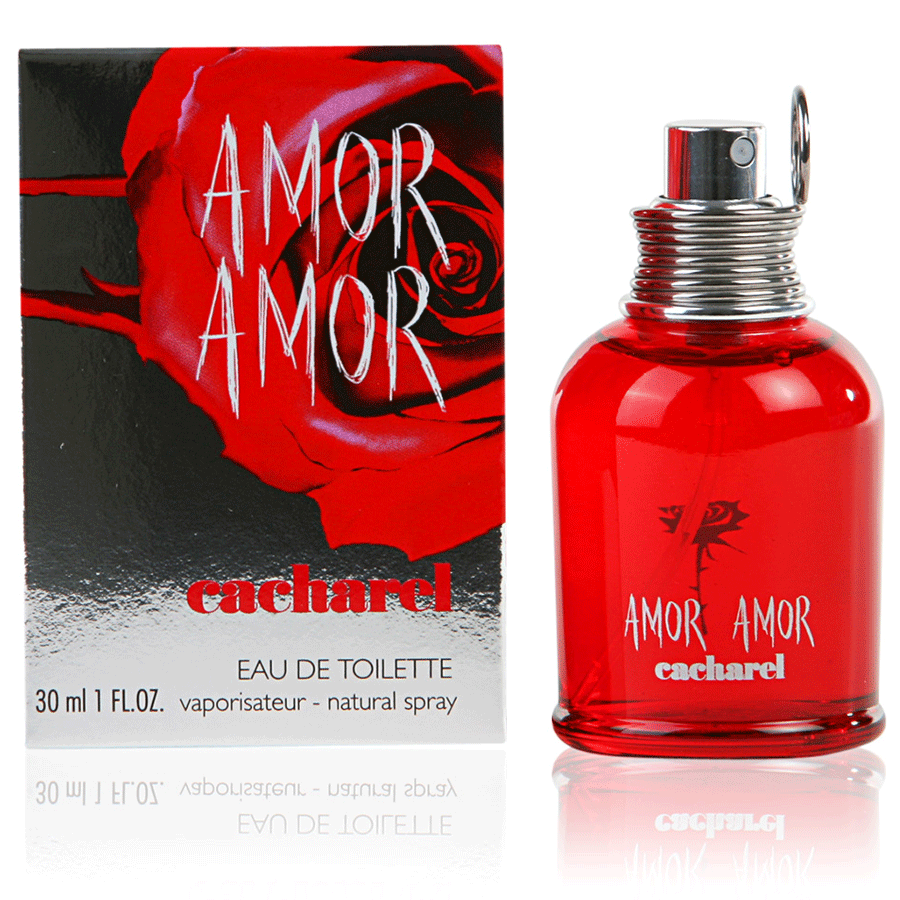 CACHAREL AMOR AMOR EDT - AVAILABLE IN 2 SIZES - Beauty Bar Cyprus