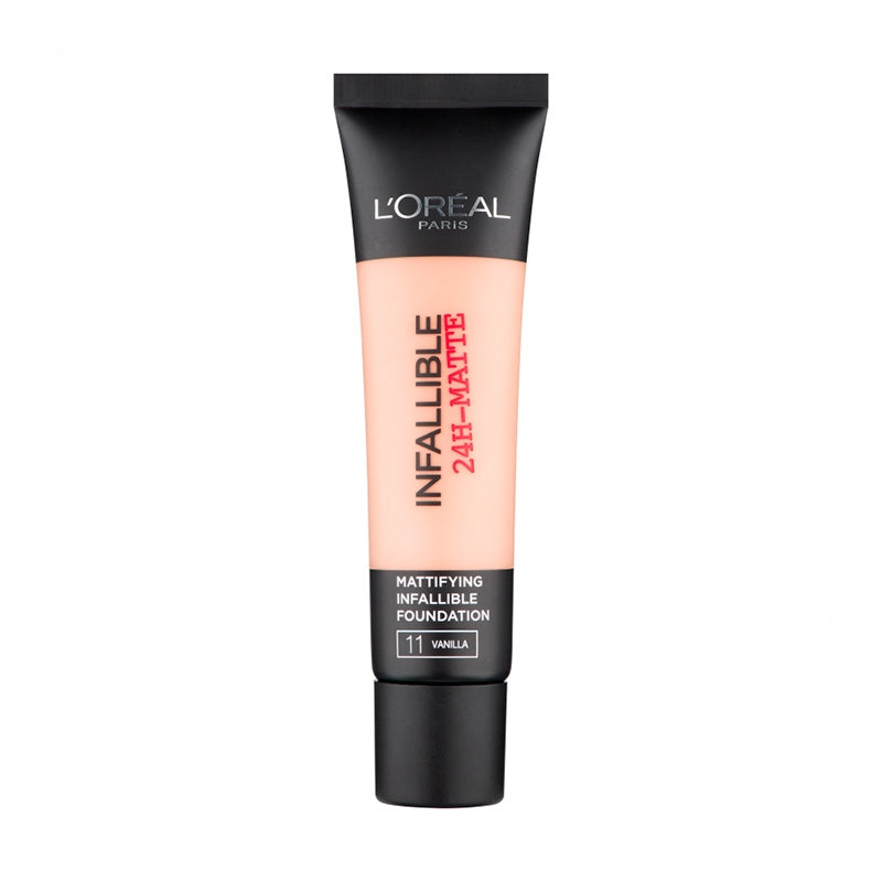 LOREAL - INFALLIBLE 24H MATTE FOUNDATION AVAILABLE IN 6 SHADES - Beauty Bar Cyprus