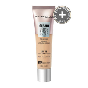 MAYBELLINE - DREAM URBAN COVER FOUNDATION - AVAILABLE IN 7 SHADES - Beauty Bar Cyprus