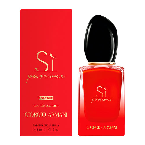 GIORGIO ARMANI SI PASSIONE INTENSE EDP - AVAILABLE IN 3 SIZES - Beauty Bar Cyprus