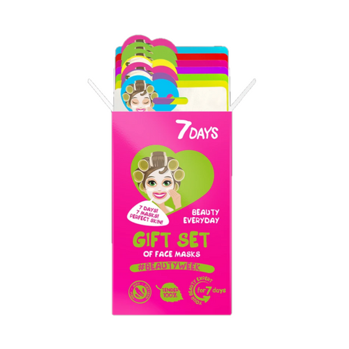 7DAYS GIFT SET OF 7 FACE MASKS - BEAUTY WEEK - Beauty Bar Cyprus