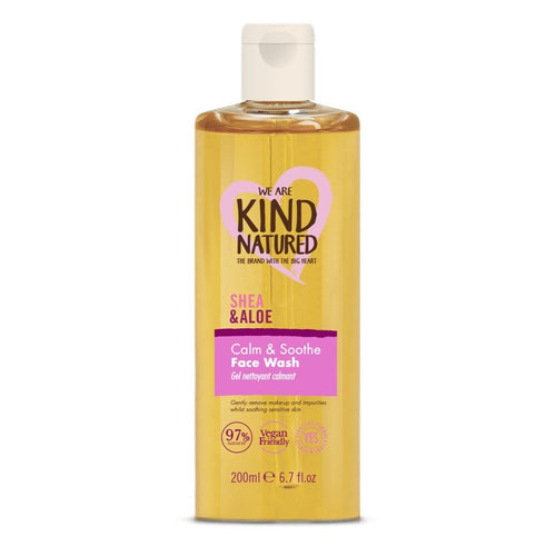 KIND NATURED - CALMING CLEANSING FACE WASH 200ML - Beauty Bar Cyprus