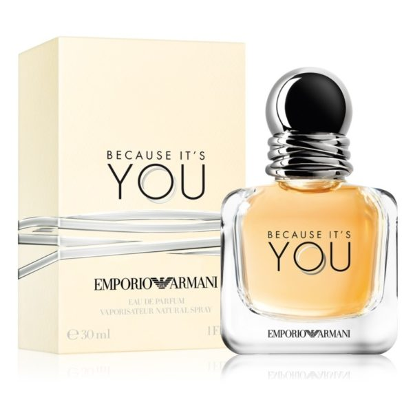EMPORIO ARMANI BECAUSE ITS YOU SHE EDP 30ML - Beauty Bar Cyprus