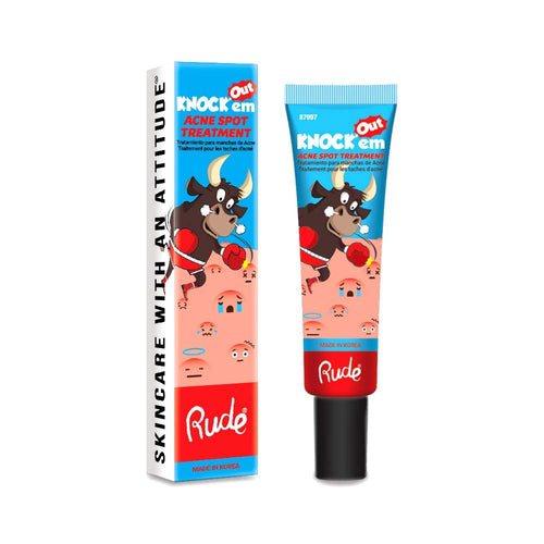 RUDE KNOCK EM OUT ACNE SPOT TREATMENT - Beauty Bar Cyprus