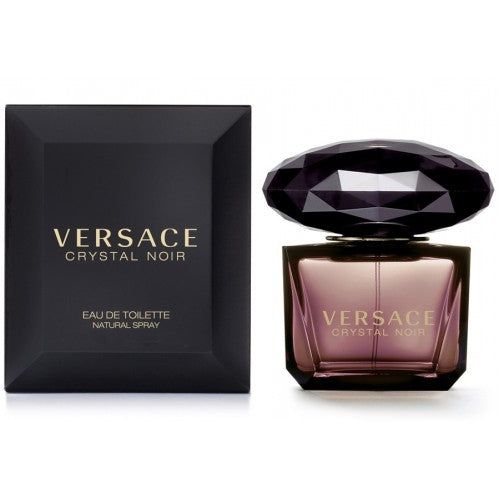 VERSACE CRYSTAL NOIR EDT - AVAILABLE IN 2 SIZES - Beauty Bar Cyprus