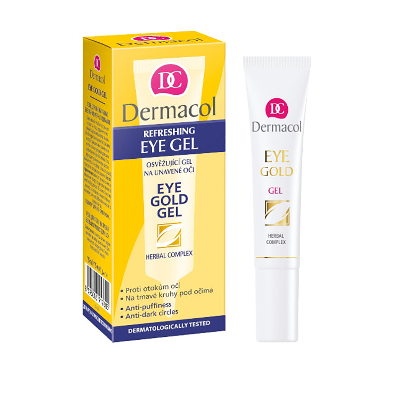 DERMACOL EYE GOLD GEL 15ML - Beauty Bar