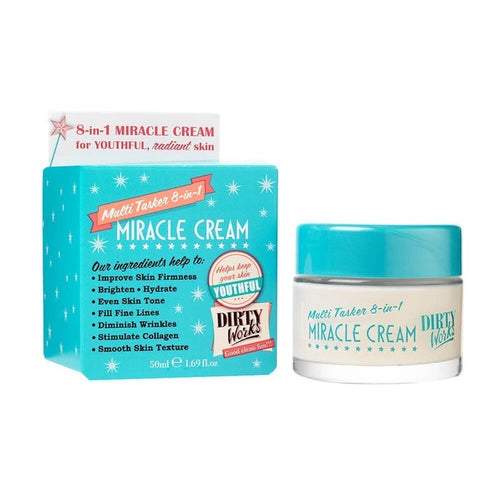DIRTY WORKS 8 IN 1 MIRACLE CREAM 50ML - Beauty Bar Cyprus