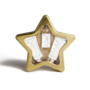 IDC INSTITUTE SCENTED BATH GOLD TIN STAR - Beauty Bar Cyprus