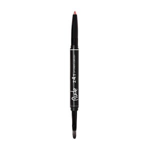 RUDE LIP LINER & BRUSH - AVAILABLE IN A VARIETY OF COLOURS - Beauty Bar Cyprus