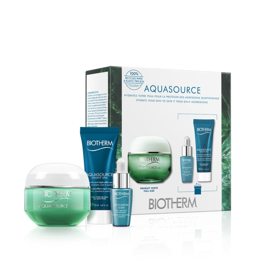 BIOTHERM AQUASOURCE GEL MOISTURIZER (NORMAL SKIN) SPRING SET - Beauty Bar