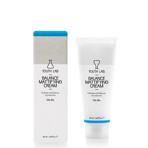 YOUTH LAB BALANCE MATTIFYING CREAM OILY SKIN 50ML - Beauty Bar Cyprus