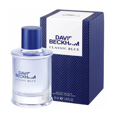 DAVID BECKHAM CLASSIC BLUE EDT - AVAILABLE IN 2 SIZES - Beauty Bar Cyprus