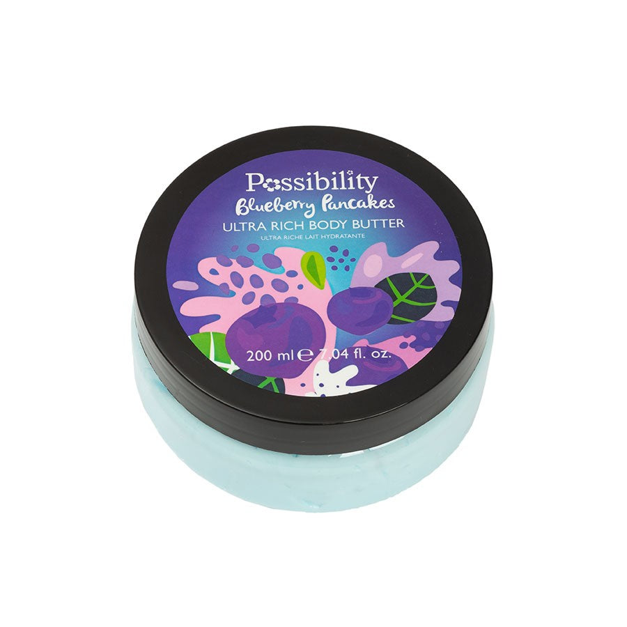 POSSIBILITY BLUEBERRY PANCAKES BODY BUTTER 200ML - Beauty Bar