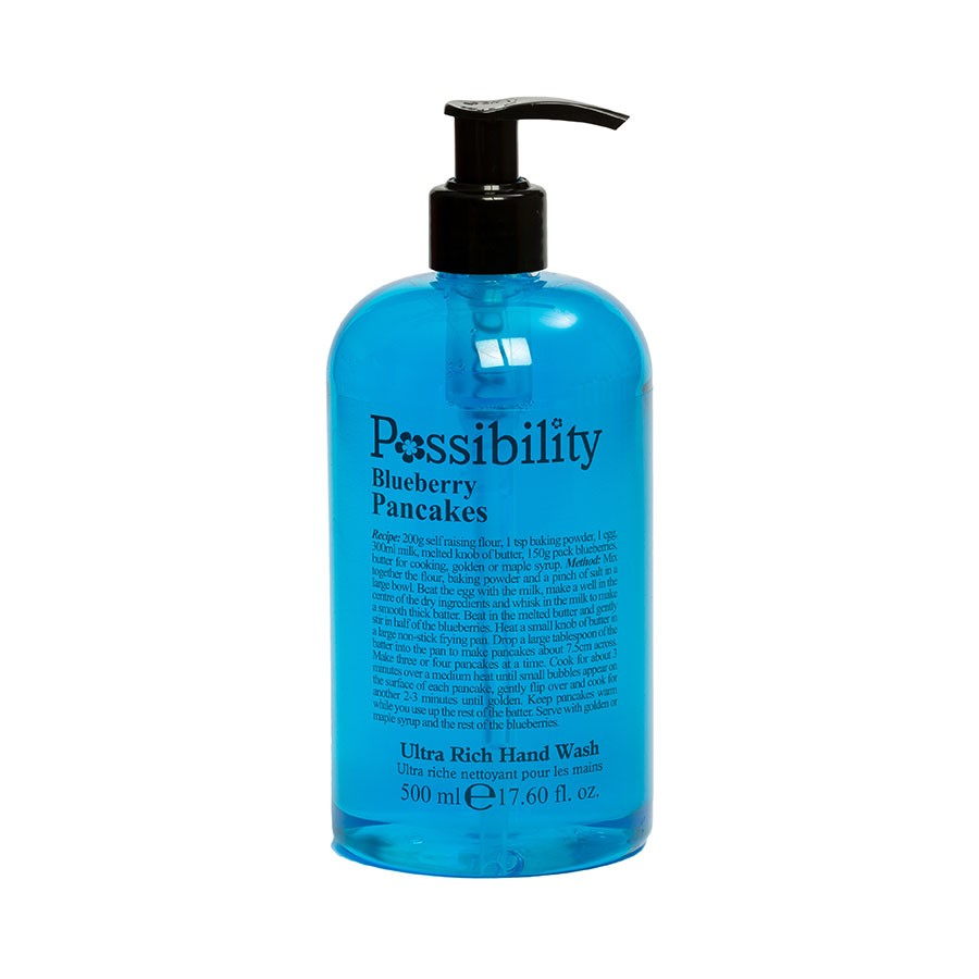 POSSIBILITY BLUEBERRY PANCAKES HAND WASH 500ML - Beauty Bar