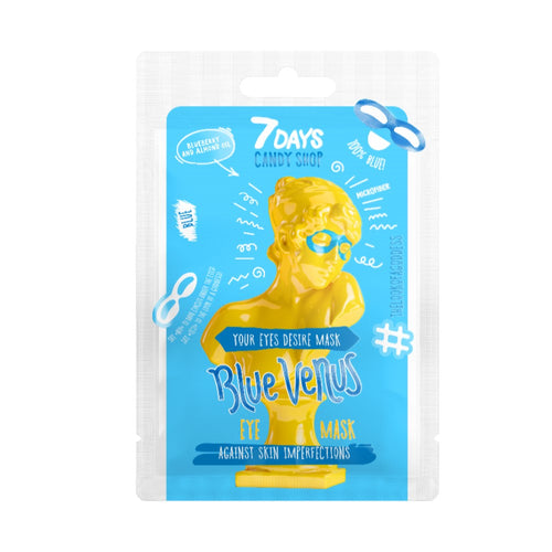 7DAYS CANDY SHOP EYE SHEET MASK BLUE VENUS - Beauty Bar Cyprus