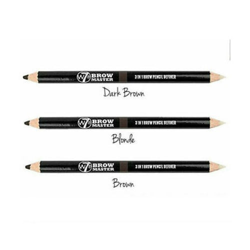 W7 BROW MASTER 3 IN 1 PENCIL - AVAILABLE IN 3 SHADES - Beauty Bar Cyprus