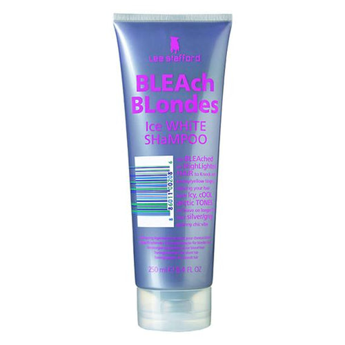 LEE STAFFORD BLEACH BLONDE ICE WHITE SHAMPOO 250ML - Beauty Bar Cyprus