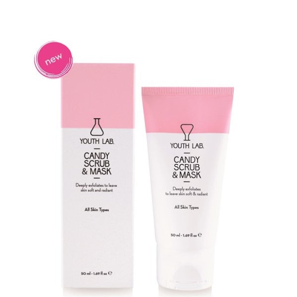 YOUTH LAB CANDY SCRUB & MASK 50ML - Beauty Bar Cyprus