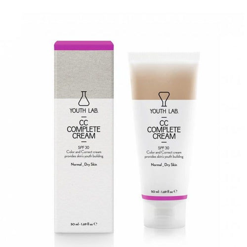 YOUTH LAB CC COMPLETE CREAM SPF 30 NORMAL SKIN 50ML - Beauty Bar Cyprus