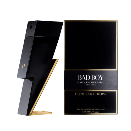 CAROLINA HERRERA BAD BOY EDT - AVAILABLE IN 2 SIZES - Beauty Bar