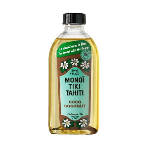 MONOI TIKI TAHITI COCO BLANC NATURAL OIL 120ML - Beauty Bar Cyprus