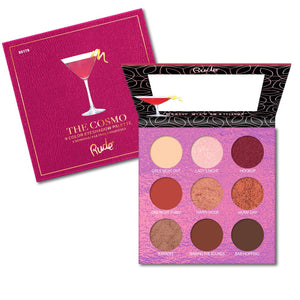 RUDE COCKTAIL PARTY 9 COLOR EYESHADOW PALETTE - THE COSMO - Beauty Bar Cyprus