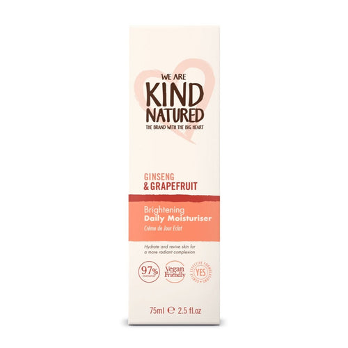 KIND NATURED -  BRIGHTENING DAILY MOISTURISER 75LM - Beauty Bar Cyprus