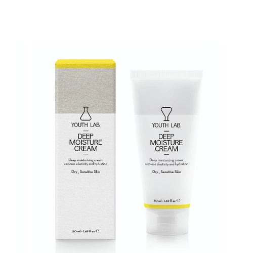 YOUTH LAB DEEP MOISTURE CREAM DRY / SENSITIVE SKIN 50ML - Beauty Bar Cyprus