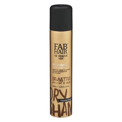 FAB HAIR BRUNETTE DRY SHAMPOO 200ML - Beauty Bar Cyprus