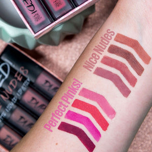 W7 DUPED LIQUID LIPSTICKS - AVAILABLE TWO SETS - Beauty Bar Cyprus