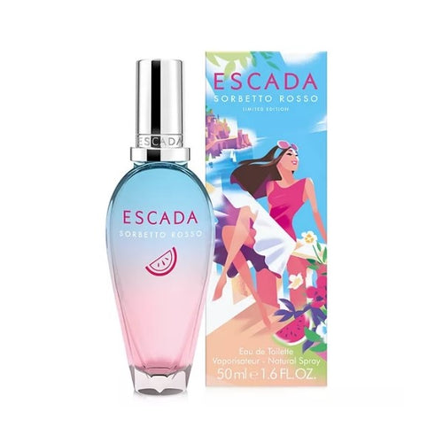 ESCADA SORBETTO ROSSO EDT - AVAILABLE IN 2 SIZES - Beauty Bar Cyprus