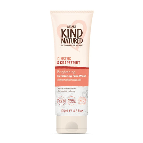 KIND NATURED - BRIGHTENING EXFOLIATING FACE WASH 125ML - Beauty Bar Cyprus