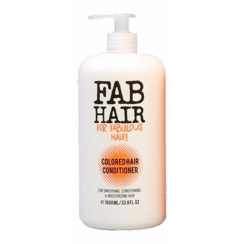 FAB HAIR COLORED HAIR CONDITIONER 1L - Beauty Bar Cyprus