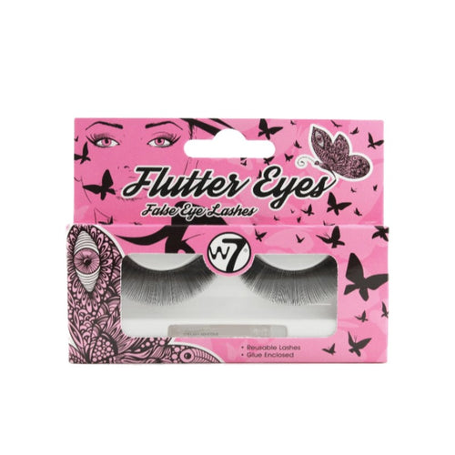 W7 FLUTTER EYES FALSE LASHES 01 - Beauty Bar Cyprus